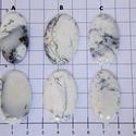 Dendrite opál 2, Gyöngy, ékszerkellék, Cabochon, Ékszerkészítés, Az egyik kedvenc ásványom.  Csodálatos mintázata van.  Kérlek válassz , hogy melyiket szeretnéd.  A..., Alkotók boltja