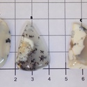 Dendrite opál 5, Gyöngy, ékszerkellék, Cabochon, Az egyik kedvenc ásványom.  Csodálatos mintázata van.  Kérlek válassz , hogy melyiket szeretnéd.  Az..., Alkotók boltja