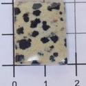 Dalmata jáspis, Gyöngy, ékszerkellék, Cabochon, 101 kiskutya kő :)   Méretek:   20mmX16mm  , Alkotók boltja