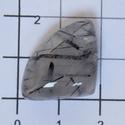 Rutil kvartz 2, Gyöngy, ékszerkellék, Cabochon,   Különleges forma!  Méretek:   16mmX16mm  , Alkotók boltja