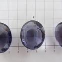 Sapphire 7, Gyöngy, ékszerkellék, Cabochon, AAA+++ minőségű, tanzanit színű , kicsiszolt sapphire drágakő.  Ezek a kövek kicsit vastagabbak, de ..., Alkotók boltja
