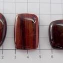 Vörös tigrisszem 4, Gyöngy, ékszerkellék, Cabochon, AAA+++ minőségű vörös tigrisszem féldrágakövek! Mind szép fényesre csiszolva!    Az ár 1 ..., Alkotók boltja
