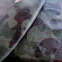 Army mintás    báránybőr , Gyöngy, ékszerkellék, Egyéb alkatrész, Alkotók boltja