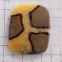 SEPTARIAN JASPER 2, Gyöngy, ékszerkellék, Cabochon, Rendkívül különleges ez a féldrága kő.  Csodálatos rajzolata , színei teljesen elvarázsolt..., Alkotók boltja