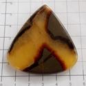 SEPTARIAN JASPER 5, Gyöngy, ékszerkellék, Cabochon, Rendkívül különleges ez a féldrága kő.  Csodálatos rajzolata , színei teljesen elvarázsolt..., Alkotók boltja