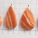 Wavedolomite 3, Gyöngy, ékszerkellék, Cabochon, Különleges köveket találtam!  Csodaszépen van csiszolva, extra fényesre polírozták. Mindegyik mintáz..., Alkotók boltja