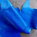 Gyönyörű  kék   báránybőr , Gyöngy, ékszerkellék, Egyéb alkatrész, Alkotók boltja