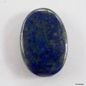 Lapis lazuli 2, Gyöngy, ékszerkellék, Cabochon, Csodálatos , sötét színű kövek !    Mérete:  30mm x 21mm x 6mm      Nem fúrt ! Cabochon !, Alkotók boltja
