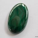 Malachite 3, Gyöngy, ékszerkellék, Cabochon, Fantasztikus színe van ezeknek a köveknek. Nem véletlen , hogy az orosz cári udvar legkedveltebb köv..., Alkotók boltja