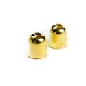 6x5mm zsinórvég, bőrvég, végzáró - arany szín, Gyöngy, ékszerkellék, Zsinórvég, bőrvég, végzáró  Szín: arany Anyag: fém Forma: harang  MÉRETEK: Magasság: 6mm Átmérő: 5mm..., Alkotók boltja