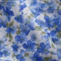 Nefelejts, Textil, Pamut, Szépséges minőségi quilt anyag. Méret:  kb. 72 x 66 cm  , Alkotók boltja