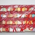 Díszdoboz csomag, Csomagolóanyag, Doboz, henger, Ékszerkészítés, 24 darabos díszdoboz csomag, darabára 166ft, de csak csomagban vásárolható meg. mérete 5x4,5x3,5cm...., Alkotók boltja