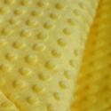 Sárga Minky textil 50cm x 150cm minimum, Textil, Varrás, Sötét kék pihe puha pöttyös Minky textil  100% poliészter, Oeko-tex 100-as minősítés   Tökéletes ba..., Alkotók boltja