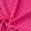 Pink Minky textil 50cm x 150cm minimum, Textil, Varrás, Pink pihe puha pöttyös Minky textil 100% poliészter, Oeko-tex 100-as minősítés  Tökéletes baba/gyer..., Alkotók boltja
