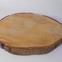 Égerfa szelet, fa korong, transzfertechnikához, dekupázshoz, Fa, Rétegelt lemez, fa alap, Decoupage, szalvétatechnika, Decoupage alap, Égerfa szelet, fa korong melyet könnyen használhatsz mindenféle dekoráció elkészítéséhez.  A felüle..., Alkotók boltja