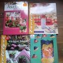 4 darabos barkács / kézműves könyv csomag, Könyv, újság, Használt könyv, Mindenmás, Eladó a képen látható 4 darabos kézműves könyvcsomag: Álomesküvő, Lámpafűzérek, Asztaldíszek, Virág..., Alkotók boltja