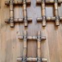 3 db bambusz képkeret egy csomagban, Fa, Képkeret, Mindenmás, Eladó a képen látható 3 db bambusz, indonéz fakeret. A beletehető kép nagysága 10,5 cm x 15,5 cm. M..., Alkotók boltja