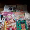 7 + 2 db barkács / hobbi kiadvány / újság csomag, Könyv, újság, Újság, Mindenmás, Eladó a képen látható hobbi barkács kiadvány csomag, mellékletekkel együtt:  - Álomesküvő (színes ö..., Alkotók boltja