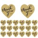 156 db barna szív thank you matrica, Dekorációs kellékek, Papír, Papírművészet, Mindenmás, 156 db thank you matrica. Kb. 2,5 cm, barna, szív alakú. 1 íven 12 db van. 13 ívet szállítunk a cso..., Alkotók boltja