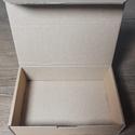 Kis méretű önzáró tároló doboz (120x83x30 mm), Csomagolóanyag, Doboz, henger, Szappankészítés, Mindenmás, Kis méretű, felnyitható tetejű önzáródó hullámkarton tároló doboz  Szappanok, ajándéktárgyak, alkat..., Alkotók boltja