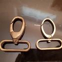 Fém karabíner 50mm, Csat, karika, zár, 50mm-s fém karabíner eladó. Posta is lehetséges., Alkotók boltja