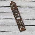 Vintage Paris Eiffel mintás fa stencil sablon, Fa, Egyéb fatermék, Papírművészet, Paris mintás sablon  Anyaga: fa  Méret: 26 x 5 cm  Scrapbookinghoz, levelekhez, képeslapra, albumok..., Alkotók boltja