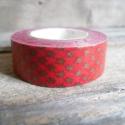 Karácsonyi mintás Washi tape - Csillagok 1, Papír, Scrapbook, Papírművészet, Karácsonyi mintás washi tape    Méret: 10m/tekercs  Szélesség: 1,5cm  Csomagolásra, scrapbookinghoz..., Alkotók boltja