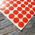 Termékjelölő árazó lezáró matrica PIROS pötty- 1 ív, Papír, Egyéb papír, Papírművészet, Kerek piros pötty matrica  1 ív  108 matrica/ív   Méret: kb. 1,6cm átmérő    Termékek jelölésére, m..., Alkotók boltja