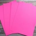 Pink Öntapadós NYOMTATHATÓ papír - A4, Papír, Egyéb papír, Papírművészet, Élénk pink öntapadós papír A4-es méretben  Alkalmas saját matricák, termékmatricák, etikettek készí..., Alkotók boltja