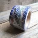 Vintage mintás Washi tape - USA, Papír, Scrapbook, Vintage mintás washi tape  Vegyes mintákkal a szalagon  Méret: 10m/tekercs  Szélesség: 3cm  Cso..., Alkotók boltja
