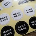Fekete és Fehér Handmade matrica - 2ív, Papír, Egyéb papír, Alkotók boltja