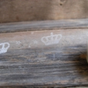 Mintás dekor csipkés ragasztószalag (16) KORONA - 1db, Csomagolóanyag, Ragasztószalag, cellux, Áttetsző csipkeszalag   Öntapadós  Méret: 1,5cm x 10m  Anyaga: mint a cellux, csak mintás    N..., Alkotók boltja