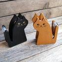 Macska alakú ragasztószalag továbbító - BARNA, Szerszámok, eszközök, Egyéb szerszám, eszköz, Alkotók boltja