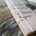 Gyönyörű Vintage stílusú virágmintás Kraft Album Vázlatfüzet Napló Füzet, Papír, Szerszámok, eszközök, Alkotók boltja