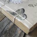 Gyönyörű Vintage stílusú Pillangó mintás Kraft Album Vázlatfüzet Napló Füzet, Papír, Szerszámok, eszközök, Alkotók boltja