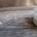 Mintás dekor csipkés ragasztószalag (6) EIFFEL, Csomagolóanyag, Ragasztószalag, cellux, Papírművészet, Áttetsző csipkeszalag   Öntapadós  Méret: 1,5cm x 10m  Anyaga: mint a cellux, csak mintás    Nagyon..., Alkotók boltja