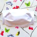 10 db Fehér maszk, szájmaszk - uniszex szájmaszk - pamut szájmaszk , Táska, Divat & Szépség, Szépség(ápolás), Egészségmegőrzés, Maszk, szájmaszk, Varrás, Pamut anyagból készült szájmaszk (többrétegű), amely gumipánttal rögzíthető a fejre, anyaga mosható..., Meska
