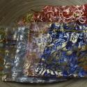 10 db-os organzaszütyő csomag, Csomagolóanyag, Mindenmás, 10 db-os, 9x12 cm-es organza tasak csomag vegyes színekben, vegyes mintákkal. 1 db ára 40 Ft., Alkotók boltja