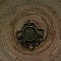 Antikolt bronz színű medálalap 12 mm-es caboconhoz, Gyöngy, ékszerkellék, Antikolt bronz színű, fém medálalap, köztes 12 mm-es caboconhoz. Ékszerkészítéshez, kreatívoskodásho..., Alkotók boltja