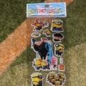 Minion matrica, Dekorációs kellékek, Csomagolóanyag, Mindenmás, 3 ív Minion/Gru matrica. 1 ív mérete: 17x8 cm, ára 230 Ft. Vegyesen válogatva., Alkotók boltja