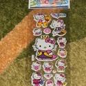 3 ív Hello Kitty matrica, Dekorációs kellékek, Csomagolóanyag, Mindenmás, 3 ív Hello Kitty 3D matrica. 1 ív mérete: 17x8 cm, ára 230 Ft. Vegyesen válogatva., Alkotók boltja