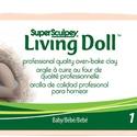 Super Sculpey Living doll baby 454g , Gyurma, Vásároljon a Sculpey magyarországi diszributorától! Több mint 100 féle Sculpey gyurma raktár..., Alkotók boltja