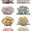 Swarovski kúpos hátú kristály PP24, Gyöngy, ékszerkellék, Swarovski kristályok, Ékszerkészítés, Készítsd el saját ékszeredet Swarovski kristályokból!:)   A boltomban megtalálod hozzá, a többféle ..., Alkotók boltja