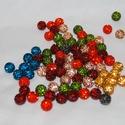 Shamballa gyöngy 62 db (35Ft/db), Gyöngy, ékszerkellék, Gyurma gyöngy, Shamballa gyöngy, kínai (nem Swarovski)  Méret: 10mm  Alacsonyabb árfekvésű ékszerek készítéséhez me..., Alkotók boltja