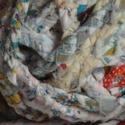 """120 dkg szőnyeg fonal- kézimunka boltom felszámolásénál visszamaradt, Textil, Kötés, horgolás, KIÁRUSÍTOK! 120 dkg összefont """"szőnyegfonal. Csak össze kell varrni és már kész is a színes szőnyeg..., Alkotók boltja"""
