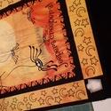 4 db különböző képből álló patchwork panelek, Textil, Pamut, Varrás, Textil, 4 db különböző halloween mintás patchwork panel Egy darab mérete kb. 40x48 cm. csak a belső keret a..., Alkotók boltja