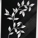 Stencil - minta - Ág, Dekorációs kellékek, Grafika, fotó, Decoupage, szalvétatechnika, Decoupage minták, Stencil minta - Ág  Mérete: 14 x 18 cm   Körülbelül 0,7 mm vastag.   Minimálisan hajlékony.   Egyed..., Alkotók boltja