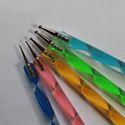 Modellező szerszám szett Fimohoz, Szerszámok, eszközök, Gyurma, Ezek a kétvégű modellező tollak megkönnyítik az apró, süthető gyurmából készített művek kialakítását..., Alkotók boltja