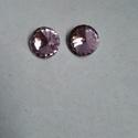 Rivoli kristály 14mm-es, Gyöngy, ékszerkellék, Swarovski kristályok, 14mm-es rivoli kristály Több színben, mind a négy színből 4-4 db van: -halvány rózsaszín -f..., Alkotók boltja