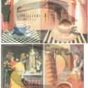 Vintage sorozat :Caffé , Papír, Decoupage papír, Decoupage, szalvétatechnika, Decoupage minták, A 4-s méretű rizsnyomat, vékony 20 gr-s rizspapíron, découpage technikához. Az eredeti nyomatot víz..., Alkotók boltja